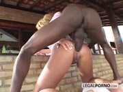 Two Big-ass Chicks Take Two Big Black Coc …