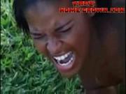 African Amateur Black Girl Gets Anal Dest …