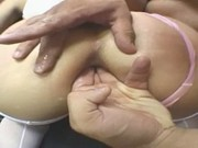 Brazilian Blonde Gets Assfucked Hard